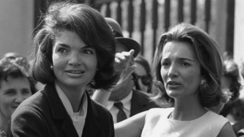 Jackie Kennedy Onassis and Lee Radziwil