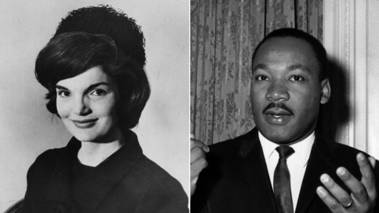 Jackie Kennedy Onassis/Martin Luther King Jr.