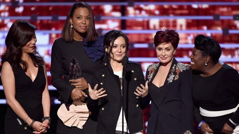 Sara Gilbert and the women of The Talk