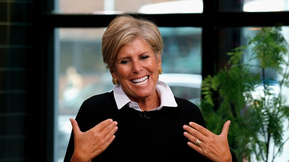 Suze Orman at Build Brunch in 2018
