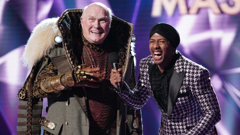 Terry Bradshaw and Nick Cannon