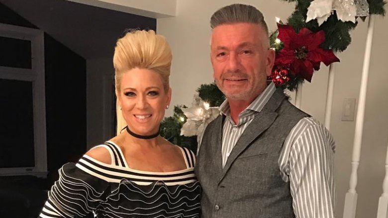 Theresa Caputo with Larry her ex-husband