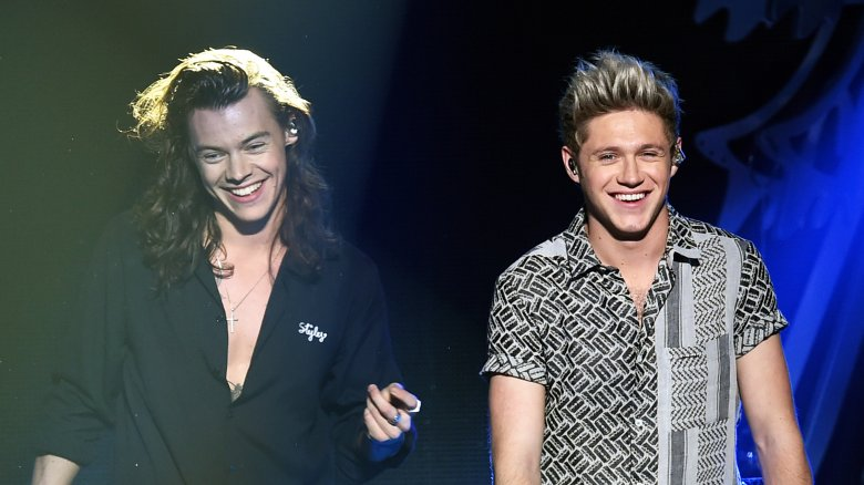 Harry Styles and Niall Horan