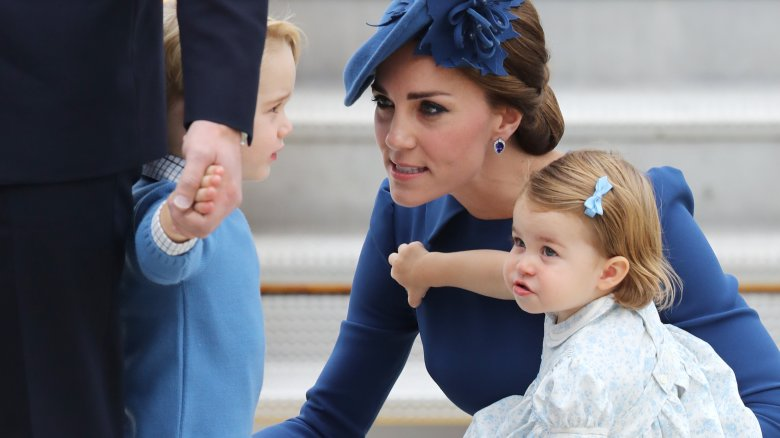 Prince George Kate Middleton Princess Charlotte