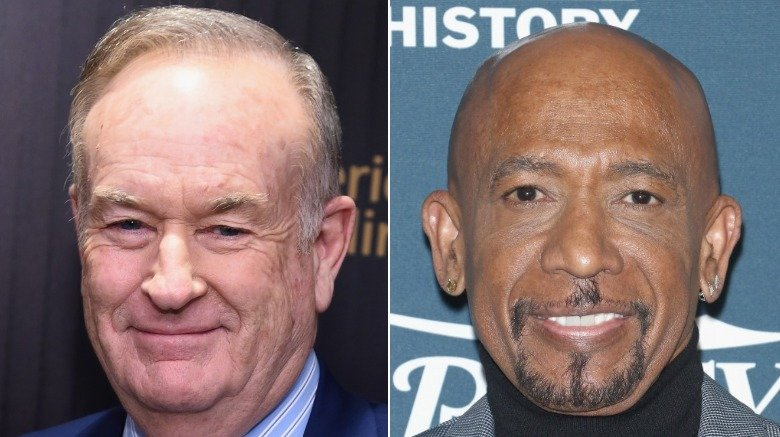 Bill O'Reilly and Montel Williams