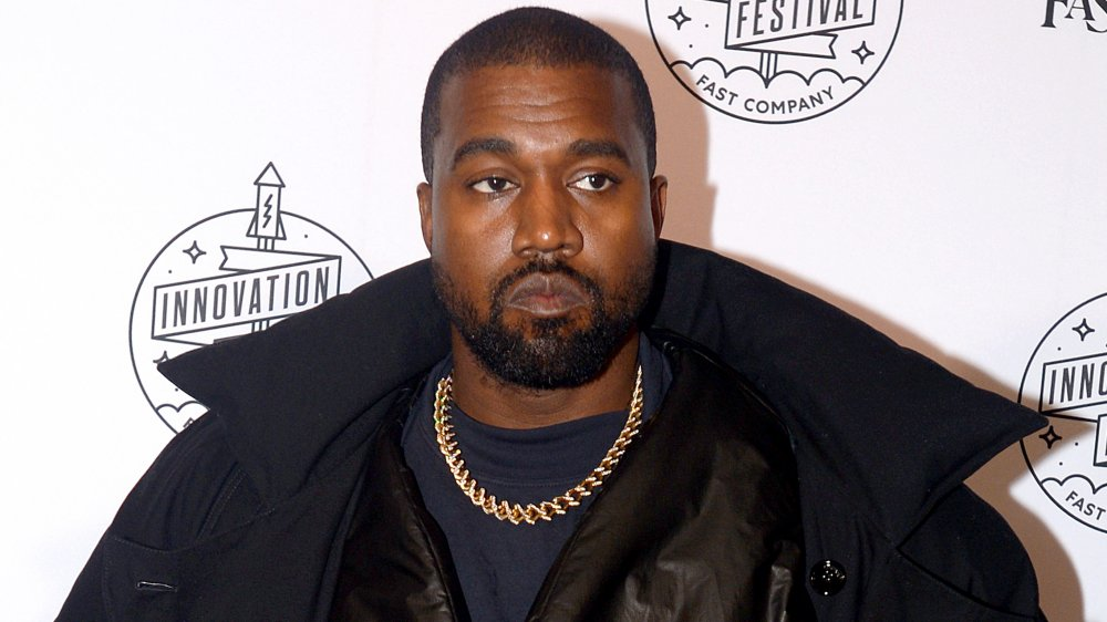 Kanye West in NYC in 2019