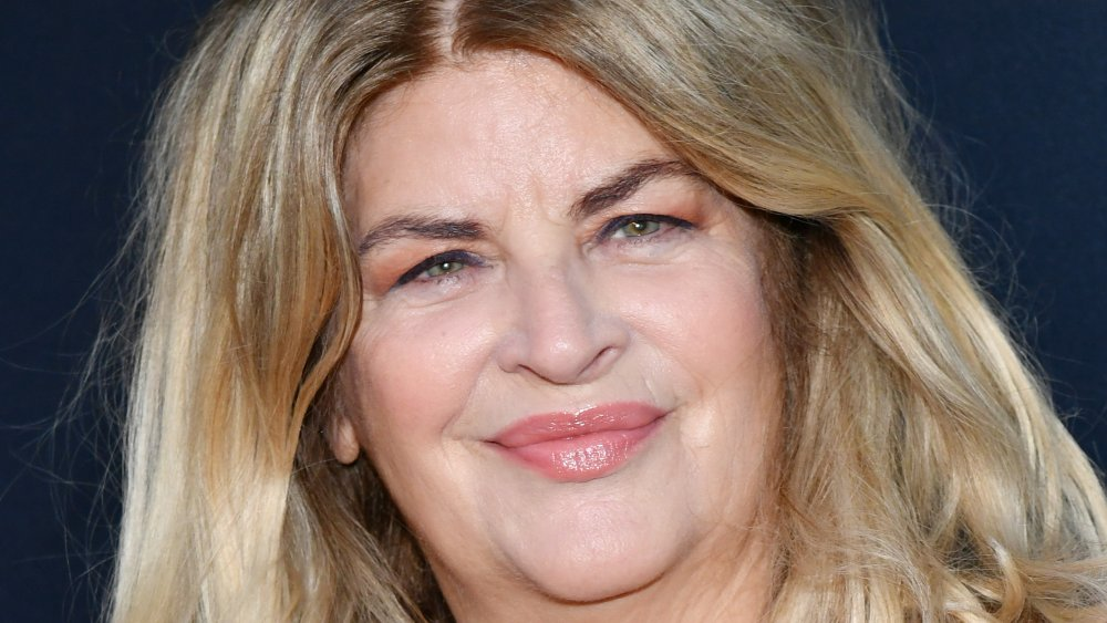 Kirstie Alley smiling