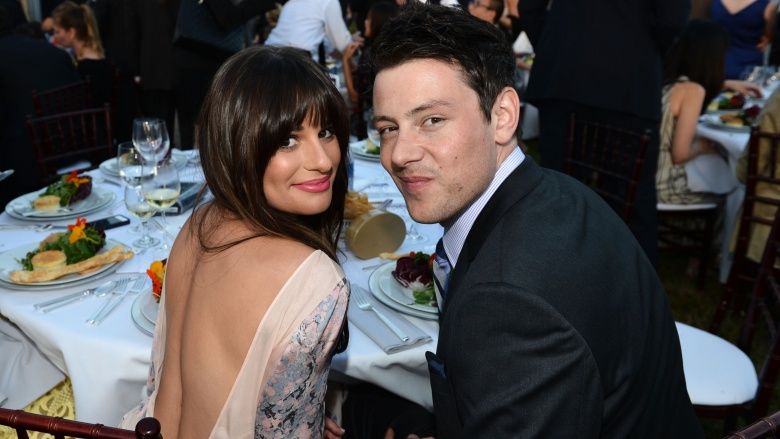 was rachel berry and finn hudson dating in real life