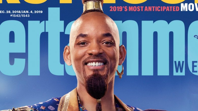 Will Smith as Genie on magazine cover