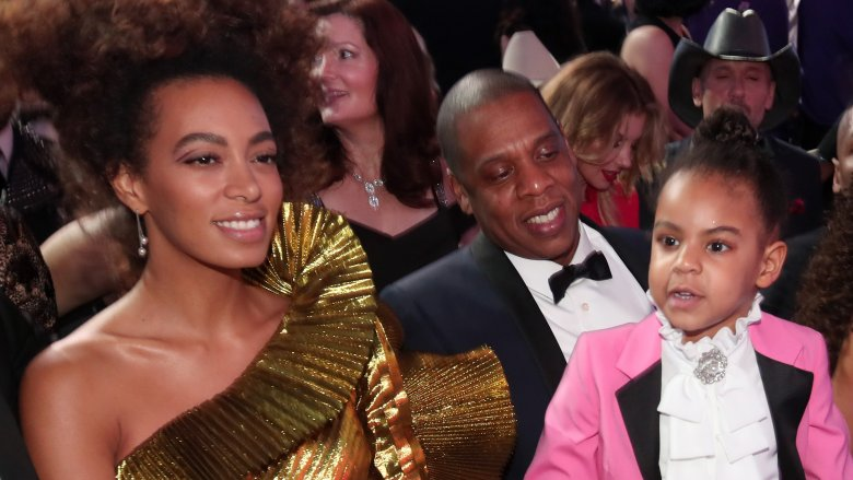 Solange Knowles, Jay-Z, Blue Ivy Carter