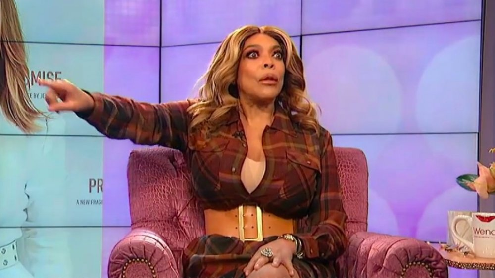 Wendy Williams telling an audience member to get out