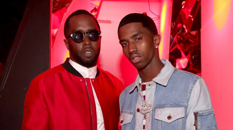 Diddy and Christian Combs