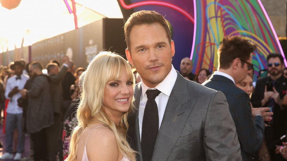 What is Chris Pratt's relationship with Anna Faris like today?