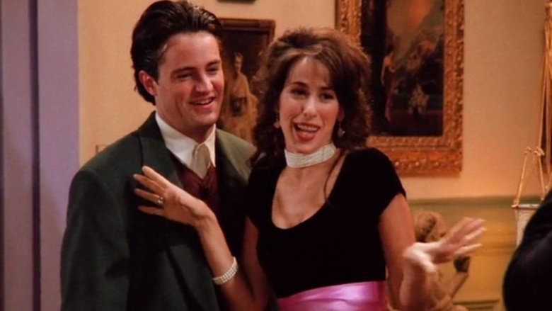 Chandler and Janice on Friends