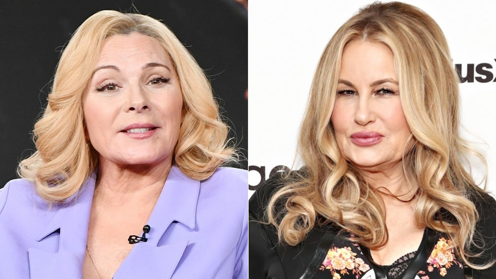 What Jennifer Coolidge Really Thinks About Replacing Kim Cattrall In The SATC Revival