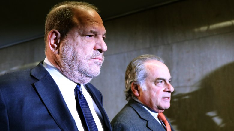 Harvey Weinstein and Benjamin Brafman