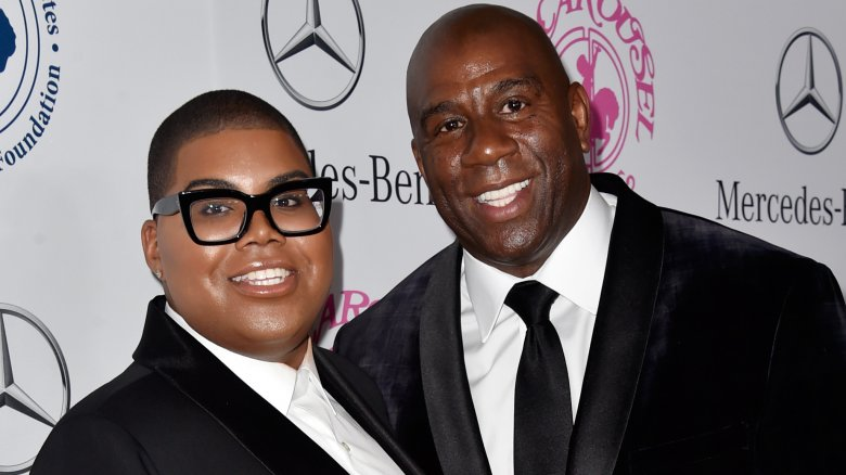 EJ and Magic Johnson