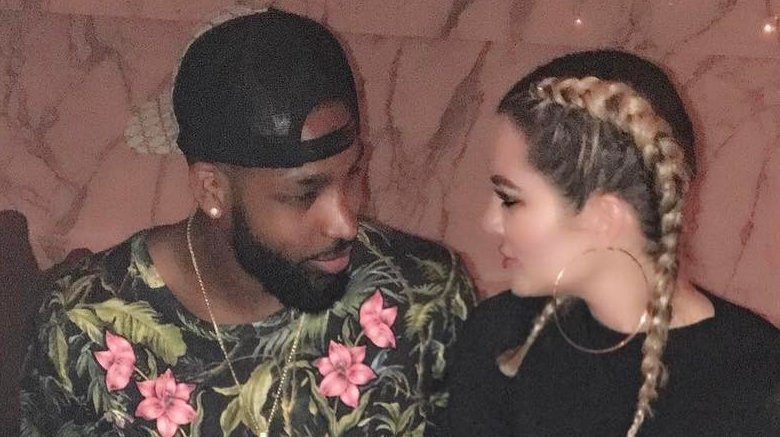 Tristan Thompson and Khloé​ Kardashian