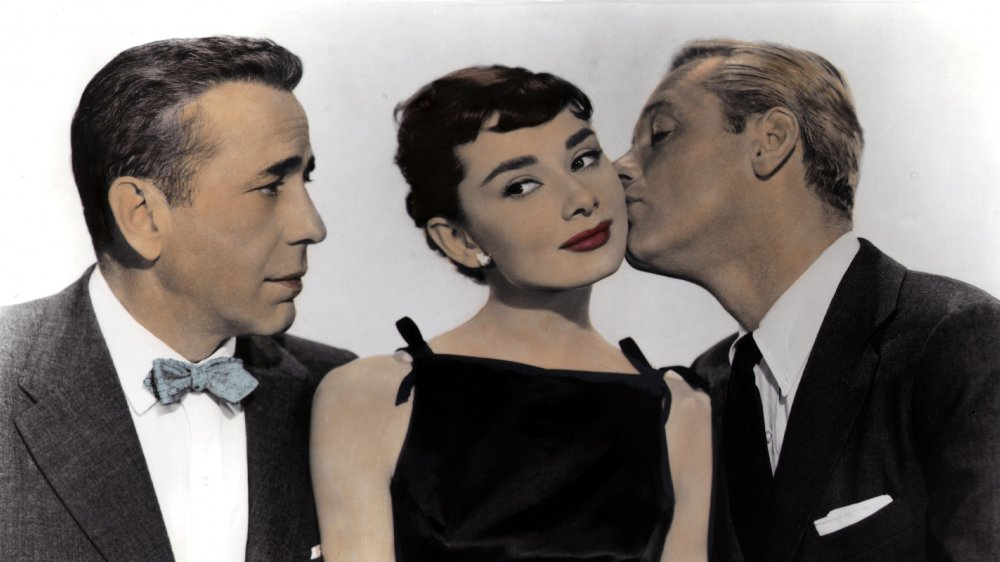 Humphrey Bogart, Audrey Hepburn, William Holden