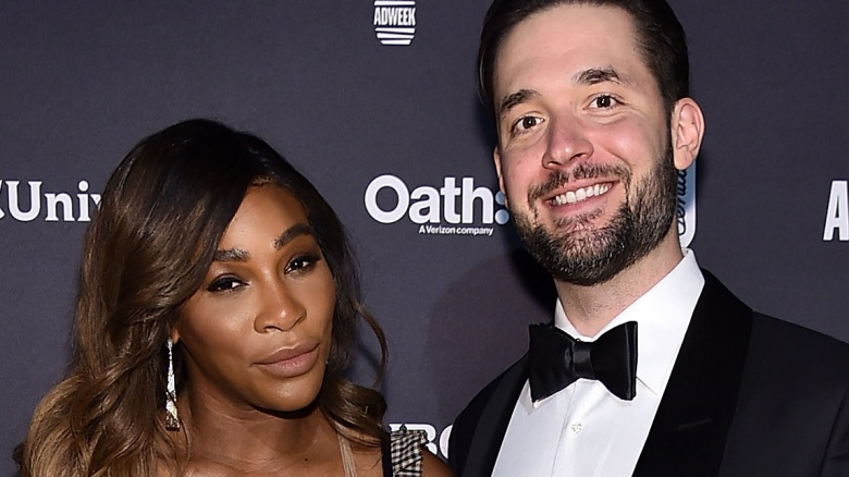 Serena Williams, Alexis Ohanian celebrate one-year anniversary