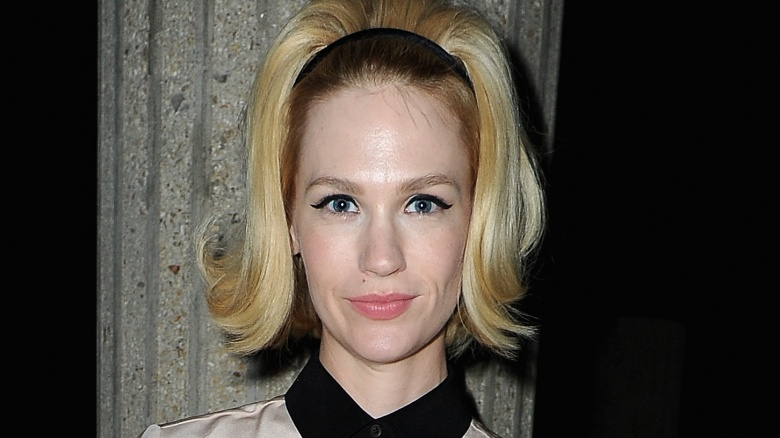 Why January Jones never became the star Hollywood wanted her to be