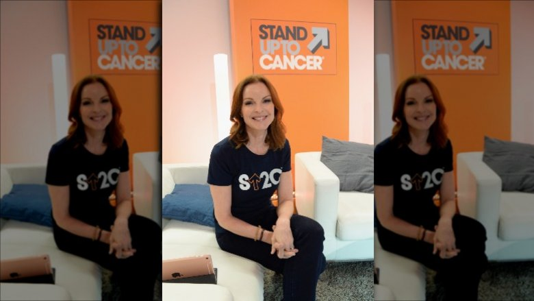 Marcia Cross opens up on fighting anal cancer
